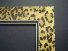 Picture Mat Leopard 20x24 for 16x20 photo Cheetah and black Animal Print