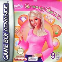 Nintendo GameBoy Advance Spiel - Barbie: Groovy Games mit OVP