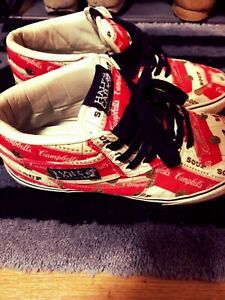 Supreme x Vans x Campbell's Soup Half Cabs 2012ss Shoes US 10 from Japan Used
