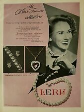 1957 Arlene Francis Collection jewelry by Leru color AD