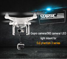 STARTRC GoPro Camera Holder Mount Led light Bracket Kit for DJI Drone Phantom 3