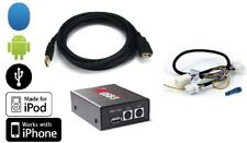 USB interface.Play MP3 on radio from Android,iPhone,thumb drive.For 04+ Infiniti