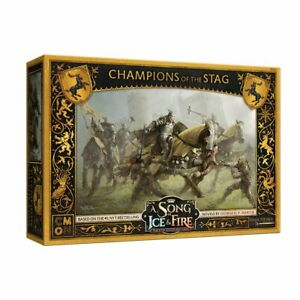 A Song of Ice & Fire - Baratheon Champions of the Stag
