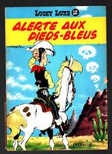 LUCKY LUKE n°10 # ALERTE AUX PIEDS-BLEUS # 1966 DUPUIS