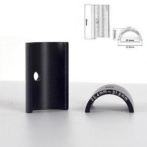 Aluminum Alloy Bike Handlebar Shim 25.4 - 31.8mm Stem Bar Adapter Reducer Spare