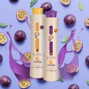Honma Tokyo Bixyplastia Keratin Brazilian Hair treatment 2 Steps Authentic 1L