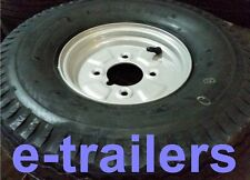 """5.70/5.00-8 6PLY 77M HEAVY DUTY TYRE ON 4"""" PCD RIM- CAR DOLLY TRAILER - 415kg"""
