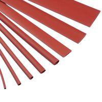 Red Heat Shrink Tubing Sleeving 2:1 Ratio Heatshrink