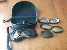 Wiley X Z87-2 Padded Sunglasses Safety Goggles - Black, Italy, Sg-1 Case Extras