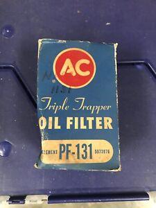 1956 1957 Chevrolet Corvette Truck AC Oil Filter PF 131 NOS