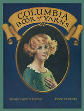 Columbia #24 c.1923 Pattern Book of Flapper Style Knitting & Crochet Patterns