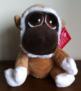 NEW RUSS Lil Peepers Kimbo Monkey Soft Plush Toy Medium