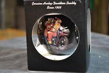 NOS Genuine Harley-Davidson 2005 Christmas Ornaments