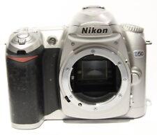 Nikon D d50 6.1mp Fotocamera Digitale-Argento (solo chassis) guasto a hobbisti