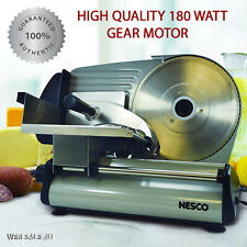 Electric Meat Food Slicer Stainless Steel 87 Blade Cheese Cutter Kitchen Machin