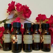 Basil Sage & Mint 1/2oz Uncut Premium Scented Burning Oil by Living Aroma