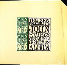 John Fahey The New Possibility Guitar Soli Christmas Album Takoma 7020 promo SIS