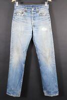 VTG 80s LEVI'S 501 XX Button Fly Denim Jeans USA Mens Size 31x36 Actual (28x32)