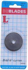 2 x 45mm la Dafa Rotary Cutter Ricambio Lama di ricambio si adatta Olfa & Fiskars