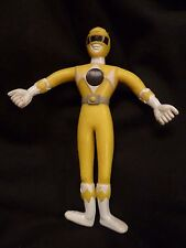 Power Rangers 1994 Mighty Morphin Bendable Figure Saban Henry Gordy Toy Yellow