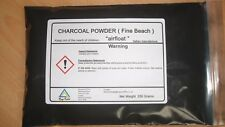 Charcoal Powder  250 Grams  ( Fine Beach )  ~ High grade ~ Great Value