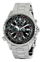 Casio Edifice EF527D-1AV Men's Stainless Steel Black Dial Chronograph Watch