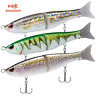 Bassdash Swimbaits Pike Trout Glide Baits Minnow Hard Fishing Lure 7in 7.2in 8in