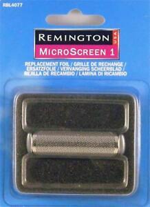 Remington MicroScreen 1 RBL4077 Replacement SINGLE FOIL (SCREEN)