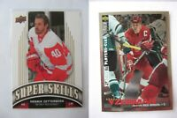 1995-96 Collector's Choice #266 Yzerman Steve PLATINUM player's club  wings