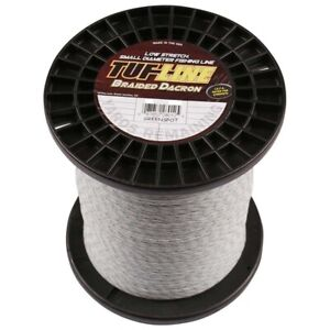 Tuf-Line Braided Spliceable Dacron Game Fishing Line 1200yds Low Stretch Quick R