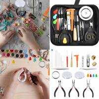 32Pcs Jewellery Making Kit Set Tool DIY Repair Pliers Beading Wire Accessories