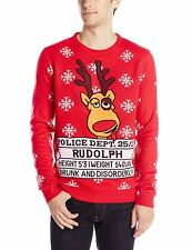 Ugly Christmas Sweater, Rudolph, Deer, Christmas Sweater, New, Medium, NWT