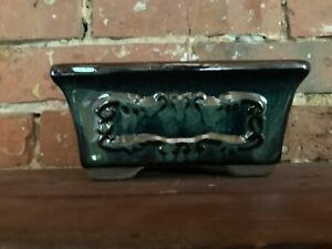 """6"""" Glazed Ceramic Bonsai Pot in a Variety of Styles & Colors"""