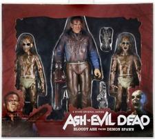 Ash vs Evil Dead Neca Bloody Ash Faces Demon Spawn Action Figure 3-Pack