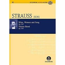 Wine, Women and Song / Vienna Blood by Johann Strauss (Mixed media product,...