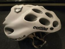 Catlike Whisper Plus Cycling Helmet and Gloss White Bicycle Helmet Small