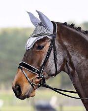 Busse Luxury Patent Crank Flash Snaffle Bridle Comfort Headpiece Including Reins
