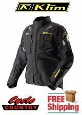 KLIM BADLANDS PRO GORE-TEX ARMORED ADVENTURE MOTORCYCLE JACKET BLACK 2XL NWT