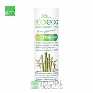 Ecoegg Reusable Bamboo Towels 1 Roll