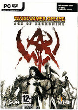 Warhammer Online: Age of Reckoning (2 x PC DVD-rom Windows, 2004)