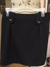 NWt Essentials By ABS Size 8 Black Career Skirt Originally $118
