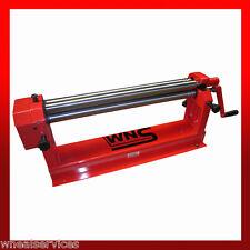 WNS Sheet Metal Top Slip Bench Mount Bending Rolls 610mm x 38mm x 1.0mm Cap Tube