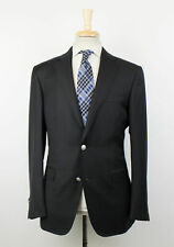 New PAL ZILERI MAINLINE Black Wool 2 Button Sport Coat Size 52/42 R Drop 7 $1495