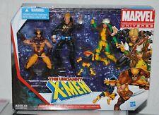 Uncanny X-Men Action Figure 4 pack 2012 Rouge Wolverine Longshot marvel universe
