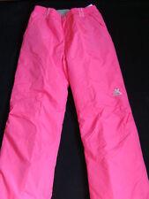 NWT Girls Zero XPosur Snow Pants Size 16 XL Hot Pink SKI Snowboard Winter NEW