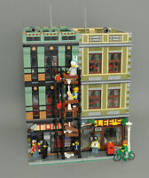 Modular Hardware Store/Pawn Shop Bauanleitung für LEGO (passt zu 10197 10211)