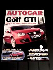 AUTOCAR MAGAZINE 04-MAY-04 - Noble M400, VW Golf GTi, TVR Tuscan S, BMW X5 3.0D