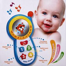 Musical Phone Toy Sound Learning Study Educational Toys for Toddler Baby Kids #L