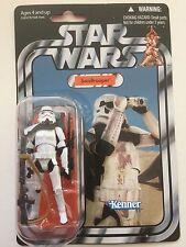 "Star Wars Action Figure of SANDTROOPER ( VC 14 ) on Vintage Card 3.75"" Tall"