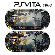 Vinyl Decal Skin Sticker for Sony PS Vita PSV 1000 Transformers Bumblebee 2